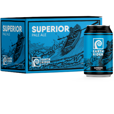 Earth Rider Superior Pale Ale 6 Pack