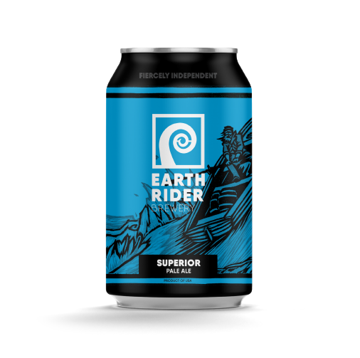 Superior Pale Ale by Earth Rider Brewery