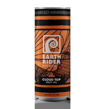Earth Rider Beer Cloud Top IPA 16oz can