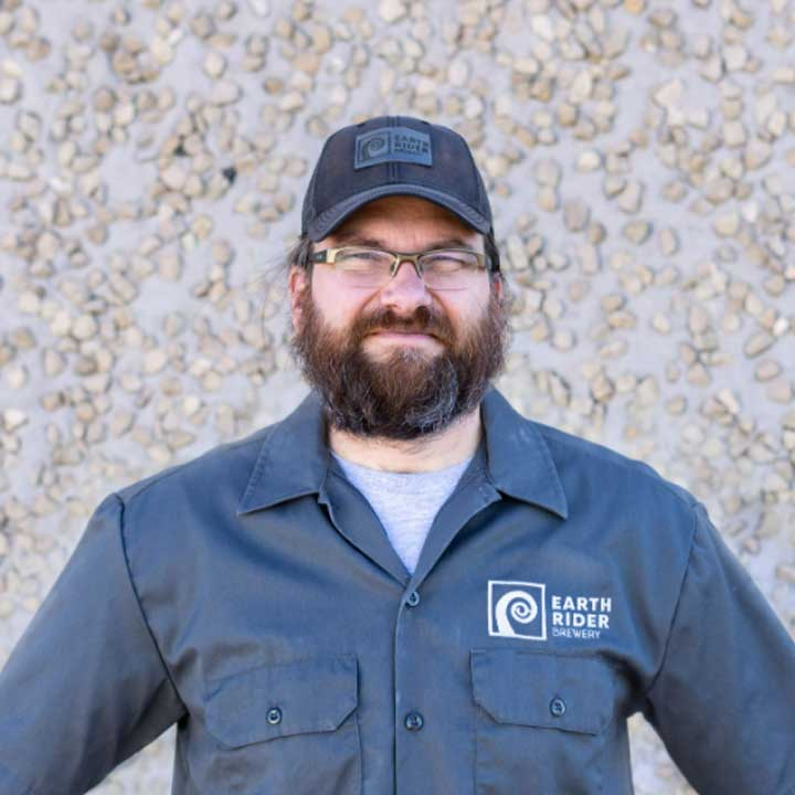 Frank Kaszuba Director of Brewing Operations at Earth Rider Brewery